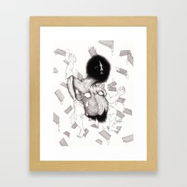 Milk Framed Art Print