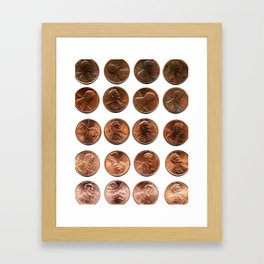 Twenty Cents (Penny Edition)  Framed Art Print