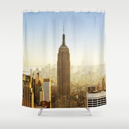 New York City Sunshine Shower Curtain