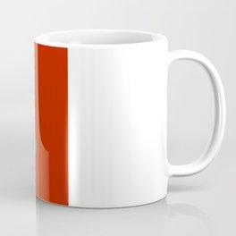 Merry and Bright Ginkgo Christmas Tree Coffee Mug