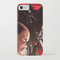 vendetta iPhone & iPod Cases featuring V (For Vendetta) by Chris B. Murray