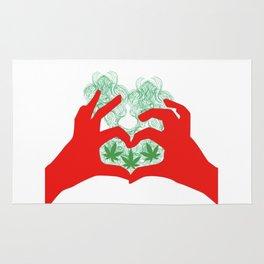 Weed Love Rug