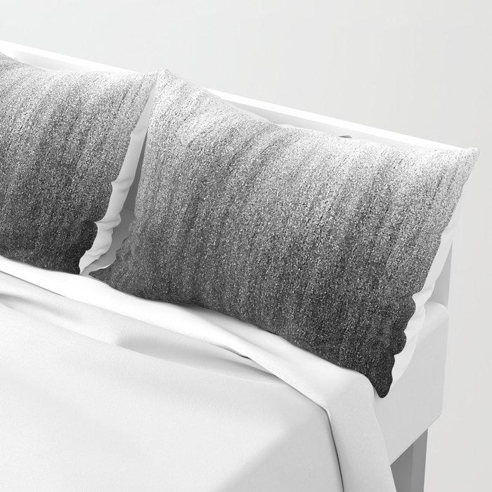 Charcoal Ombré Pillow Sham