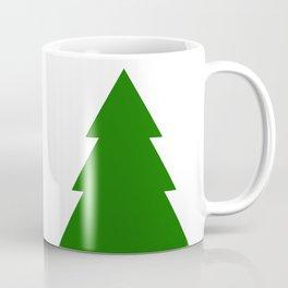 Minimal Christmas Tree Coffee Mug