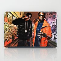 wiz khalifa iPad Cases featuring Wiz & Tempah by D77 The DigArtisT