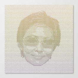 Tessellated Portraits - D.H. Canvas Print