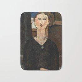 "Amedeo Modigliani ""Antonia"" Bath Mat"