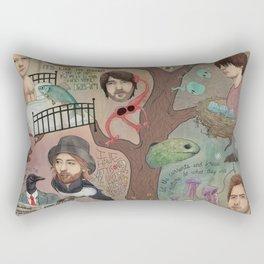The King Of Limbs Rectangular Pillow