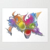 ExoticKolors Art Print