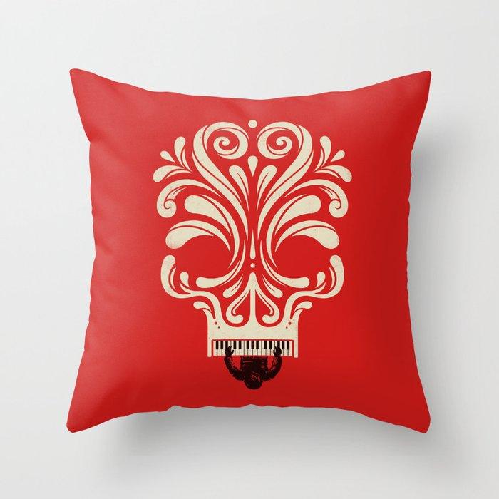 Killer Tune Throw Pillow