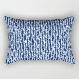 Shibori Eight Rectangular Pillow