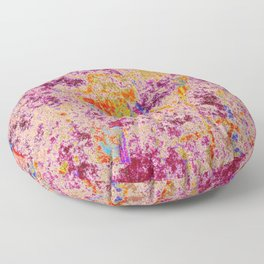 Astract Pink 04 Floor Pillow