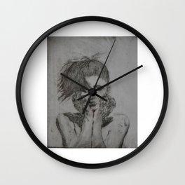Tabula Rosa Wall Clock