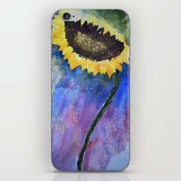 Sunflower Prayer iPhone Skin