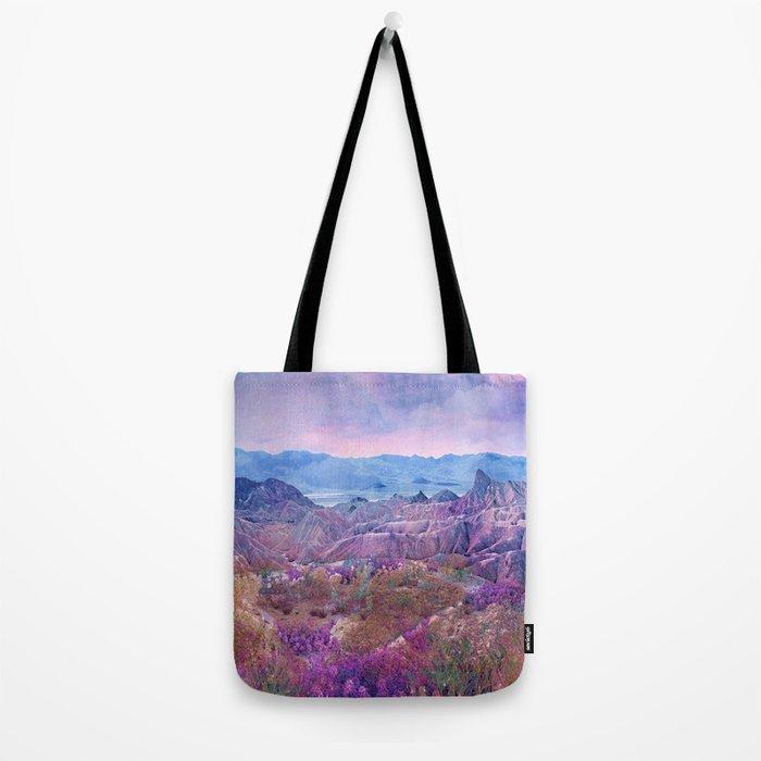 Life Valley California Desert Blooming Fantasy Tote Bag