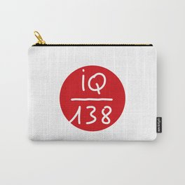IQ 138 - for Sarah Carry-All Pouch