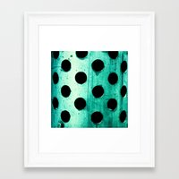 polka dots Framed Art Prints featuring Polka dots by Elisabeth Fredriksson