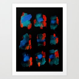 160122 Summer Shadows #82 Art Print