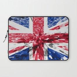 Extruded Flag of the United Kingdom Laptop Sleeve