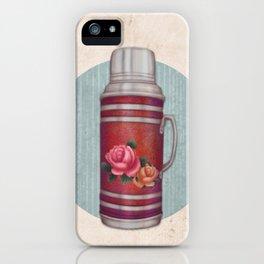 Retro Warm Water Jar iPhone Case