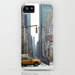 Madison Avenue - New York City iPhone Case