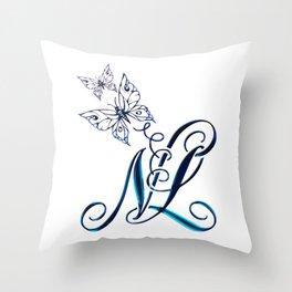 Butterflies NL Throw Pillow