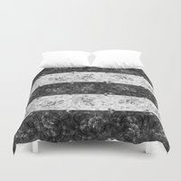 bubbles Duvet Covers featuring Bubbles by Ana Montaño