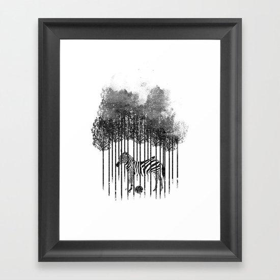 Natural Prisoner Framed Art Print