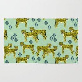 Cheetah safari nursery kids animal nature pattern print gifts Rug