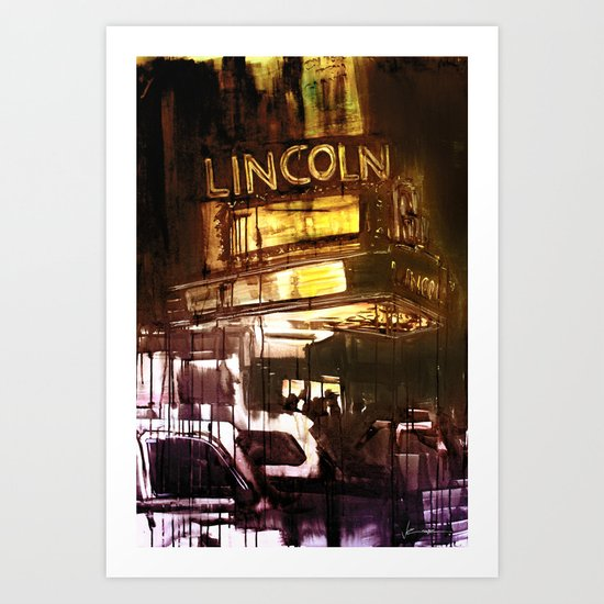 The Lincoln Art Print