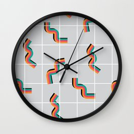 Curly fries inspired Wall Clock