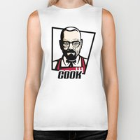 cook Biker Tanks featuring Heisenberg Cook by Maioriz Home