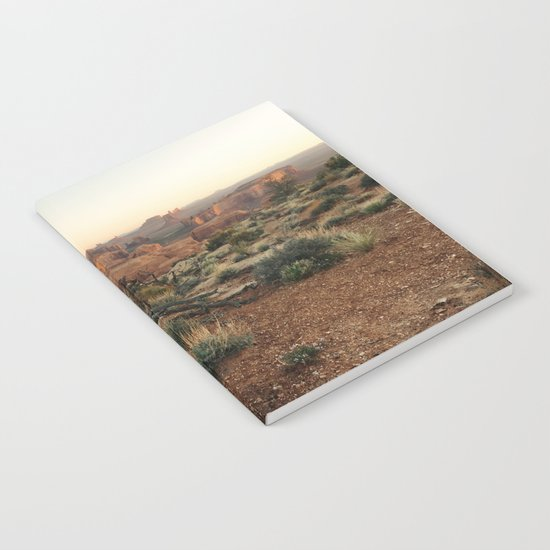 Monument Valley Morning Notebook