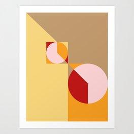 Poligonal 126 Art Print