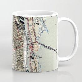 Vintage Map of Mobile Alabama (1940) Coffee Mug