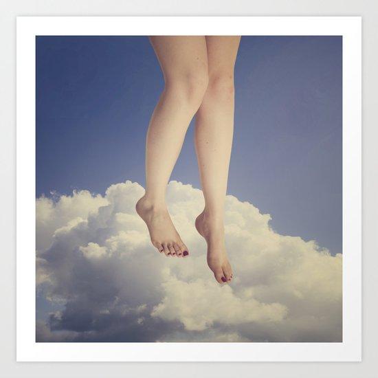 Summer Leap Art Print