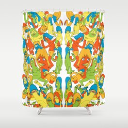 So it Goes Shower Curtain