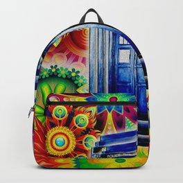 Tardis Colorfull Backpack