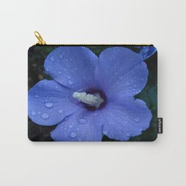 Blue Rose of Sharon II Carry-All Pouch
