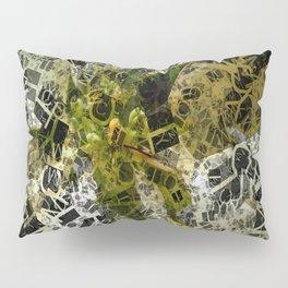 Pale Yellow Poinsettia 1 Letters 2 Pillow Sham
