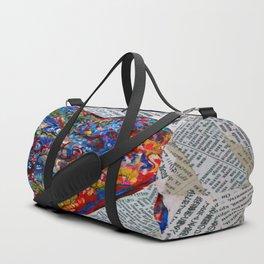 YIN YANG WORDS #society6 #decor #buyart Duffle Bag