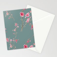 2016 Calendar Print - Cherry Blossoms Stationery Cards