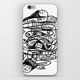 How is it going Nelh iPhone Skin