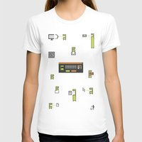 computer T-shirts featuring Computer Virus by Bakal Evgeny