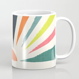 Rainbow ray Coffee Mug