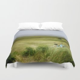 lazy summer day... Duvet Cover