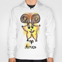 aries Hoodies featuring Aries by sladja