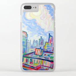The West End, Vancouver Clear iPhone Case