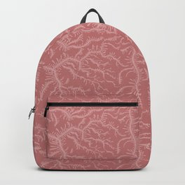 Ferning - Dusty Rose Backpack