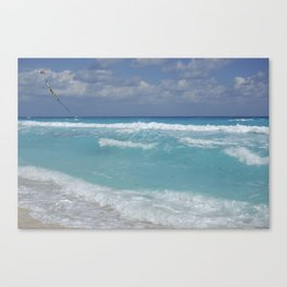 Carribean sea 3 Canvas Print